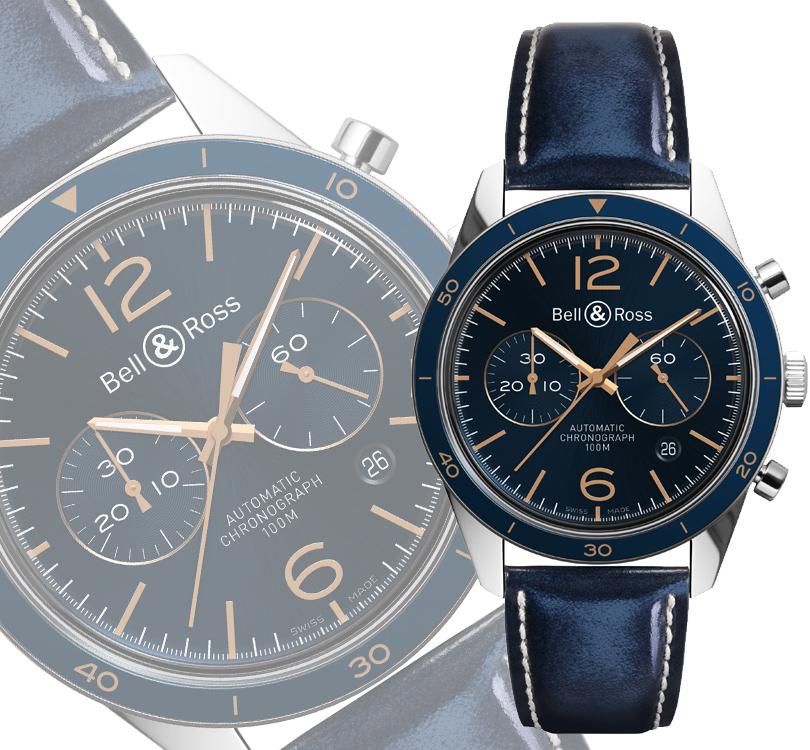 Часы & Караты: новые часы Bell & Ross Vintage Aeronavale
