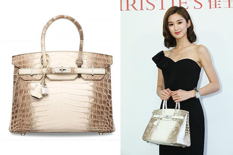 Красная цена: сумка Hermès Birkin продана нааукционе вГонконге зарекордную сумму