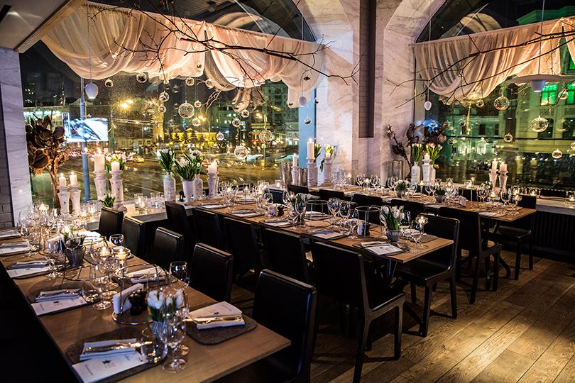 Заоформление вечера отвечали дизайнеры агентства LID'S EVENTHOUSE