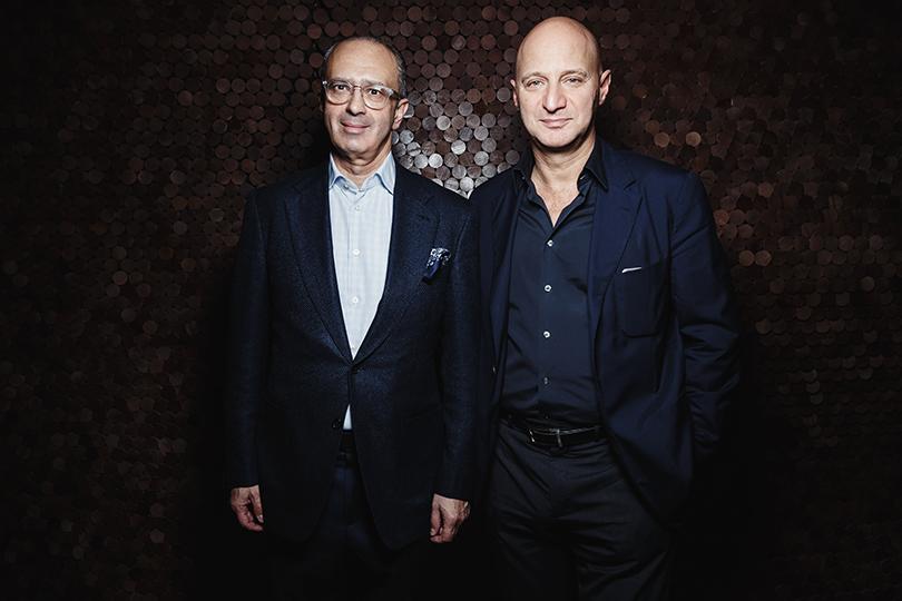 Александ Соркин (справа)
