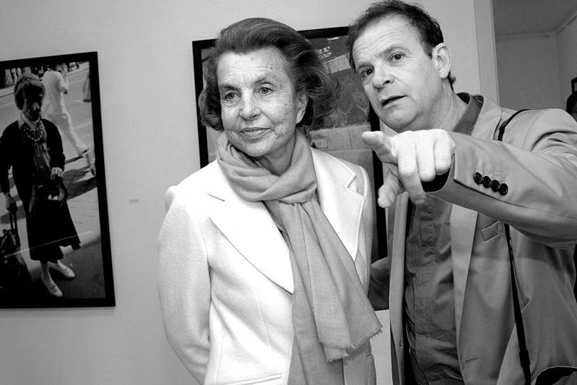 Лилиан Беттанкур и Франсуа-Мари Банье