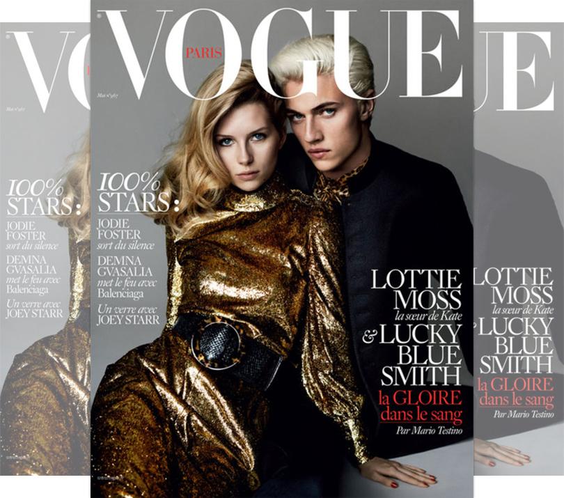 Мода и бизнес: сестра Кейт Мосс Лотти — новое лицо Bulgari. Съемка Марио Тестино для Vogue Paris, 2016г.