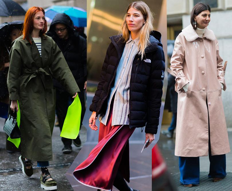 Street Style: уличный стиль наНеделе моды вНью-Йорке. Тейлор Томаси Хилл, Вероника Хейлбрюннер, Джованна Батталья