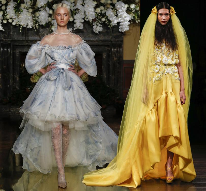 Wedding & More: 6 актуальных трендов с Недели свадебной моды в Нью-Йорке. Платья Yolancris и Naeem Khan