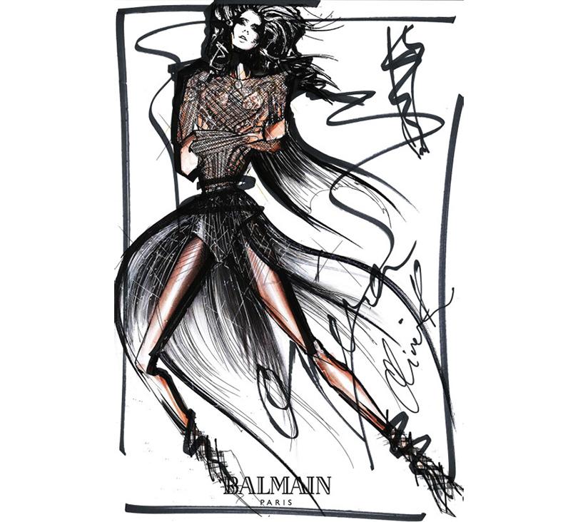 Дизайнер Balmain Оливье Рустен создаст костюмы для балета «Возрождение»