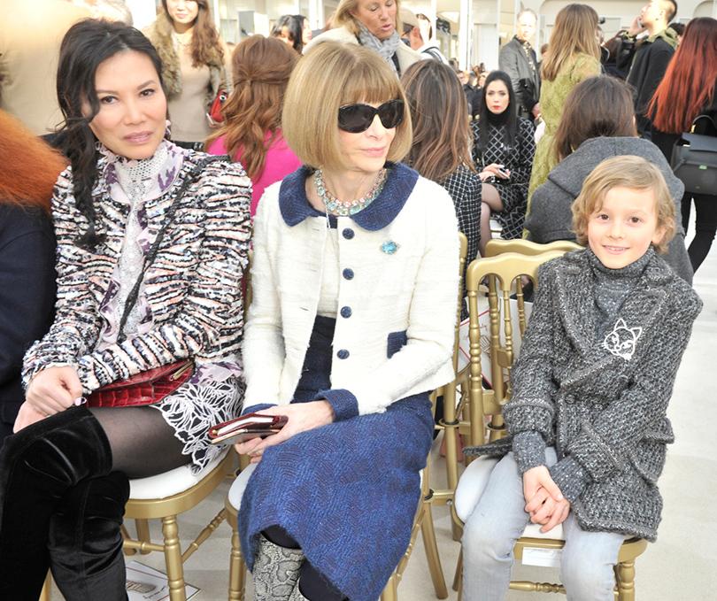 Звездные гости Недели моды в Париже, 2016: Анна Винтур