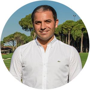 Хасан Джейлан, генеральный директор Carya Golf Club