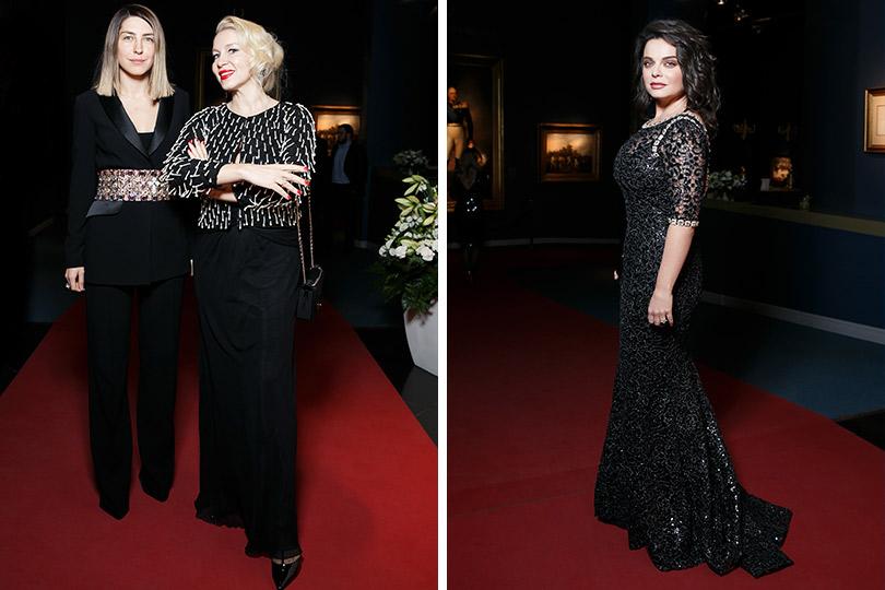 Церемония вручения премии Royal People Awards. Анна Русска иЕкатерина Одинцова. Наташа Королева