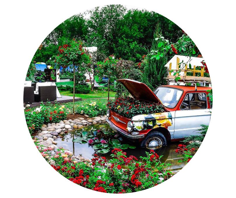 Лето в Москве: 10 городских фестивалей, которые нельзя пропустить. Международный фестиваль садов ицветов Moscow Flower Show