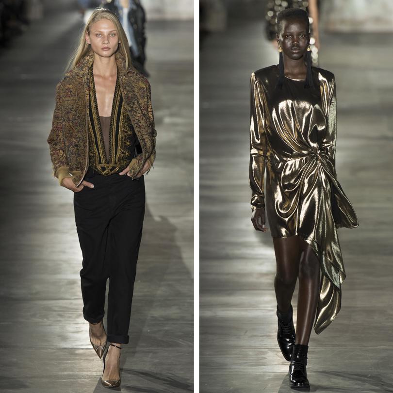 Style Notes: Энтони Ваккарелло показал новый Yves Saint Laurent
