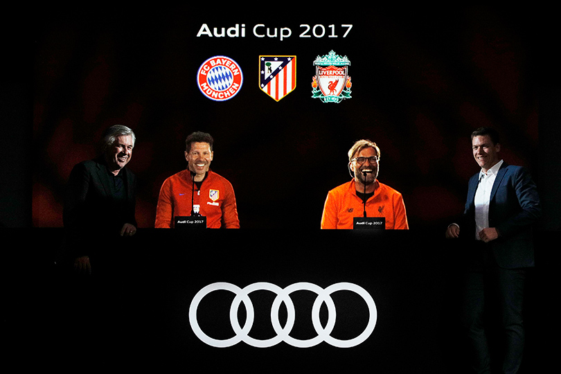 Футбольный турнир Audi Cup: два самых жарких дня лета