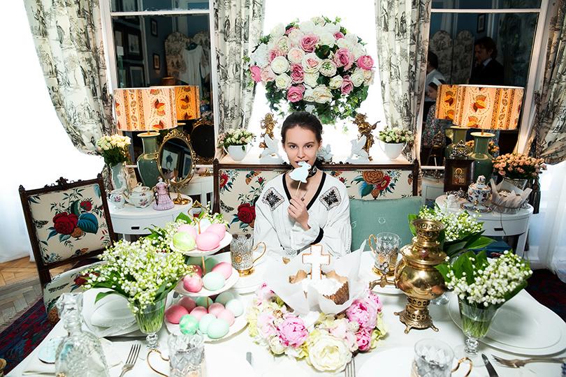 Светская хроника: праздничное чаепитие в шоуруме Axenoff Jewellery. Маша Мухина