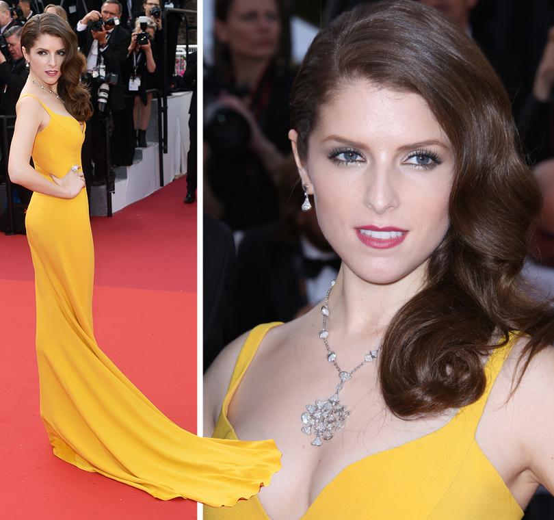 Cannes 2016: самые яркие звездные образы на церемонии открытия кинофестиваля. Анна Кендрик вStella McCartney