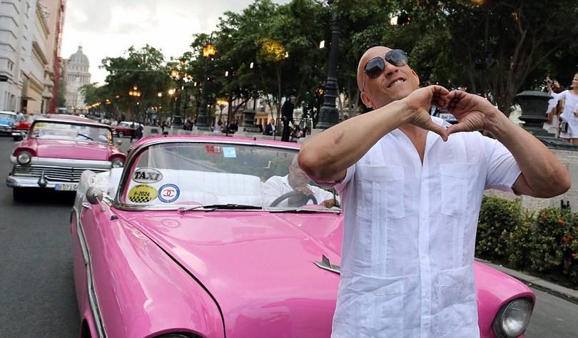 Показ круизной коллекции Chanel на Кубе. Вин Дизель