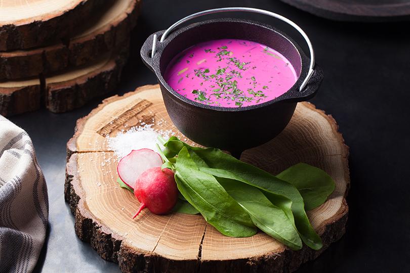 Всвоей тарелке: холодные супы вресторанах Москвы. «Брянский бык»