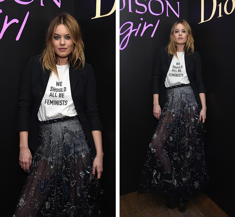 Total Beauty: Белла Хадид иКамиль Роу навечеринке Dior Poison Сlub вНью-Йорке. Камиль Роу