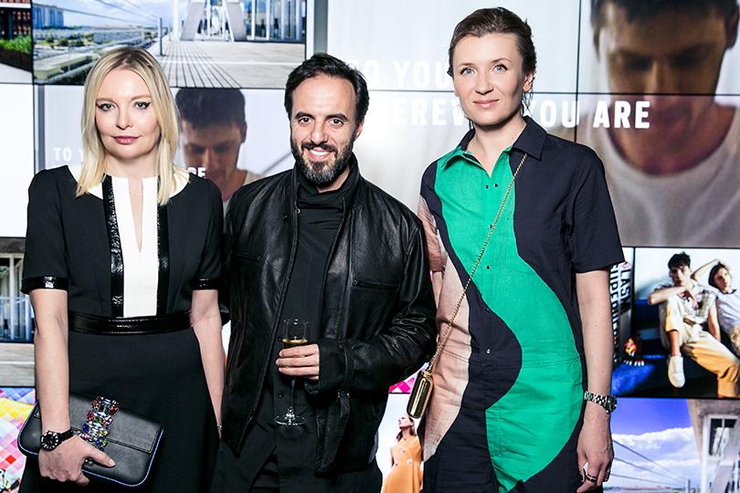 Закрытый ужин Vogue и бутика Farfetch: Виктория  Давыдова, Жозе Невеш и Анита Гиговская