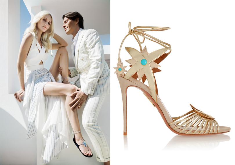 Shoes & Bags Blog: почему fashionistas выбирают Aquazzura? Причина №3: интересные коллаборации