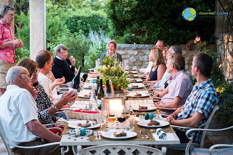Идея на каникулы: гастрономические туры по Европе Gourmet Cycling Travel