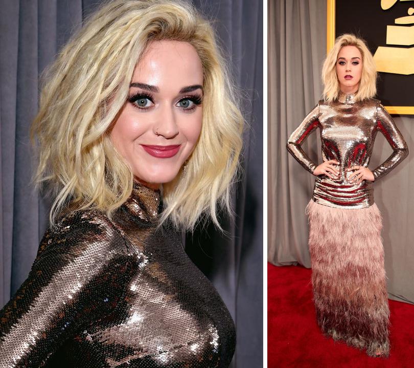 Total Beauty: лучшие звездные образы намузыкальной премии Grammy 2017. Кэти Перри