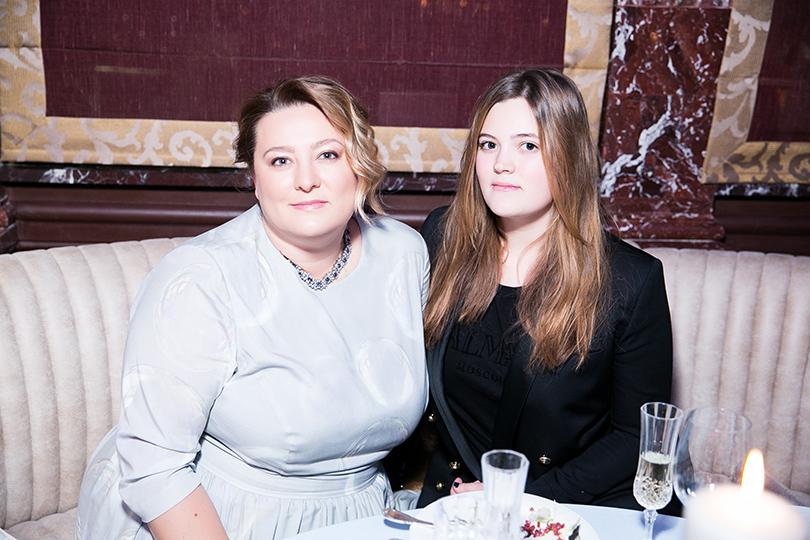 Мария Федорова с дочерью
