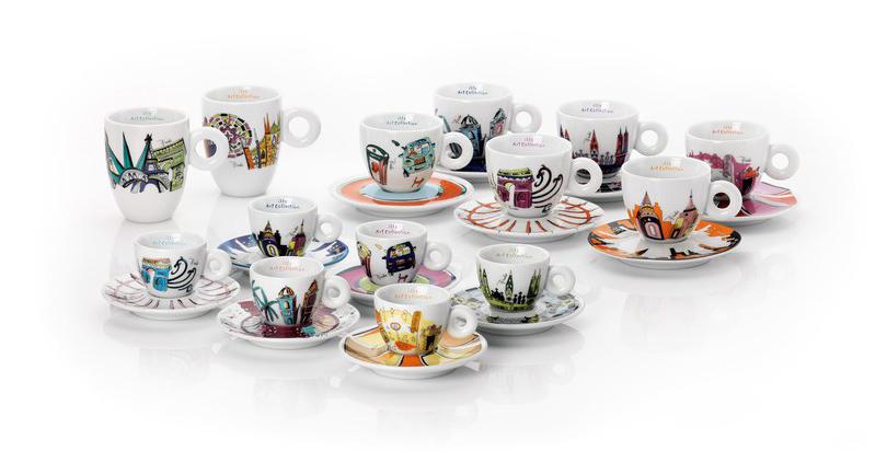 Идея подарка: кофейный сервиз отIlly иEmilio Pucci