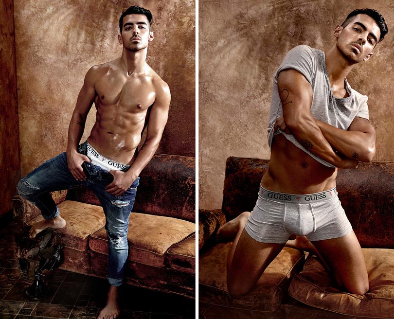 Men in Style: музыкант и актер Джо Джонас  — лицо коллекции нижнего белья Guess весна-лето 2017