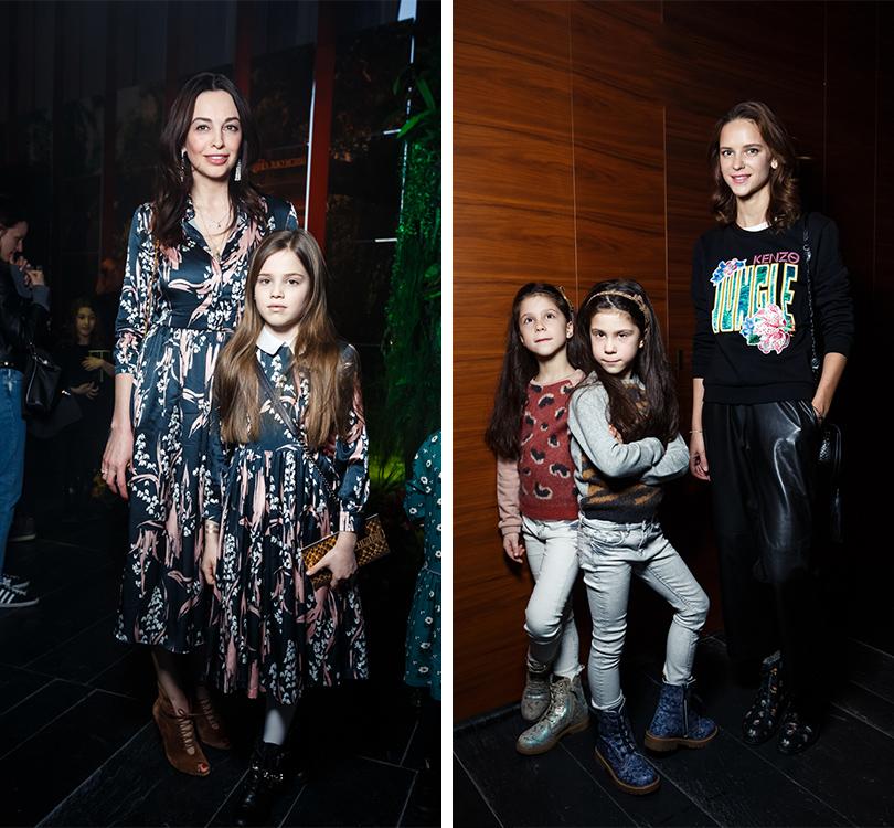 Мария Галкина с дочерью. Ксения Князева с дочерьми