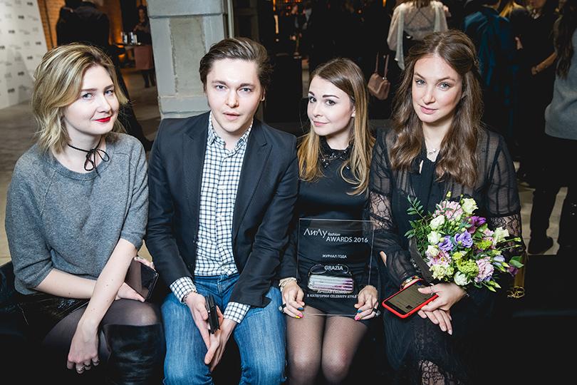 Светская хроника: гости ежегодной премии вобласти моды «Ли-Лу Fashion Awards». Елена Дудина и Алёна Пенева