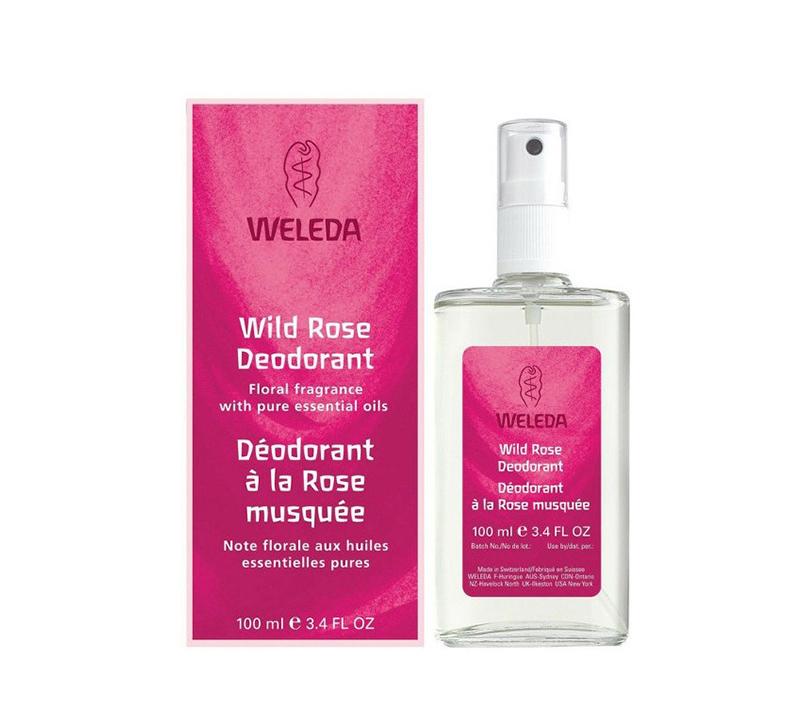 Экодезодорант снейтральным ароматом: один изхитов линейки Weleda— «Розовый дезодорант»