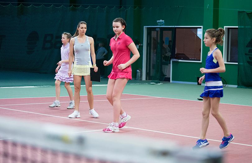 Sports & Lifestyle: детская школа тенниса Марии Кириленко в Pride Wellness Club