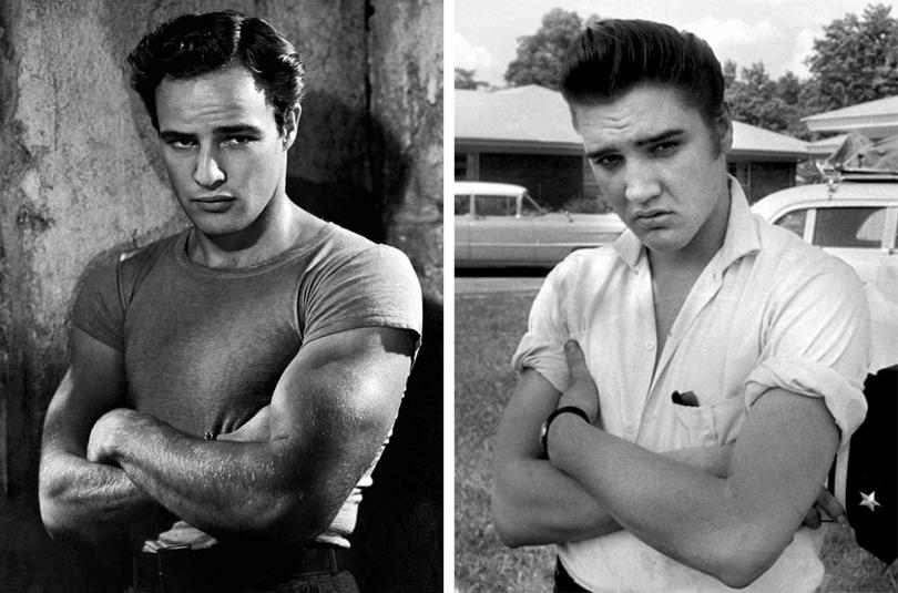 Men in Style: модная легенда Марлон Брандо.