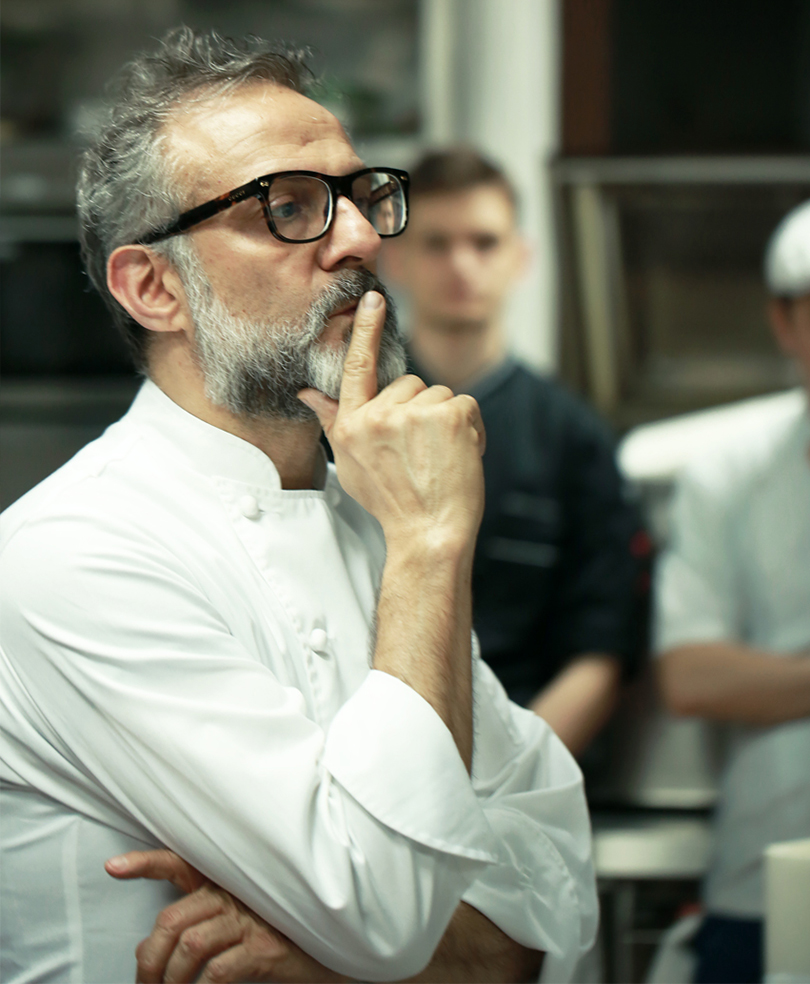 Шеф-повар Массимо Боттура— обитальянской культуре, эмоциональной кухне исобственном университете