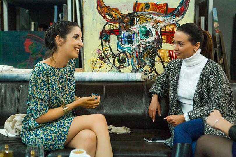 АромаШопинг: блиц-интервью с основательницей парфюмерного бренда MEMO Кларой Моллой. Клара Моллой и Влада Покровская