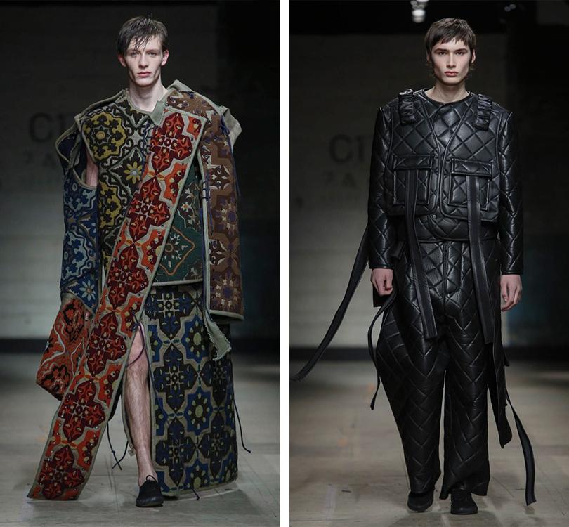 Men inStyle: самые эпатажные образы Недели мужской моды вЛондоне. Craig Green