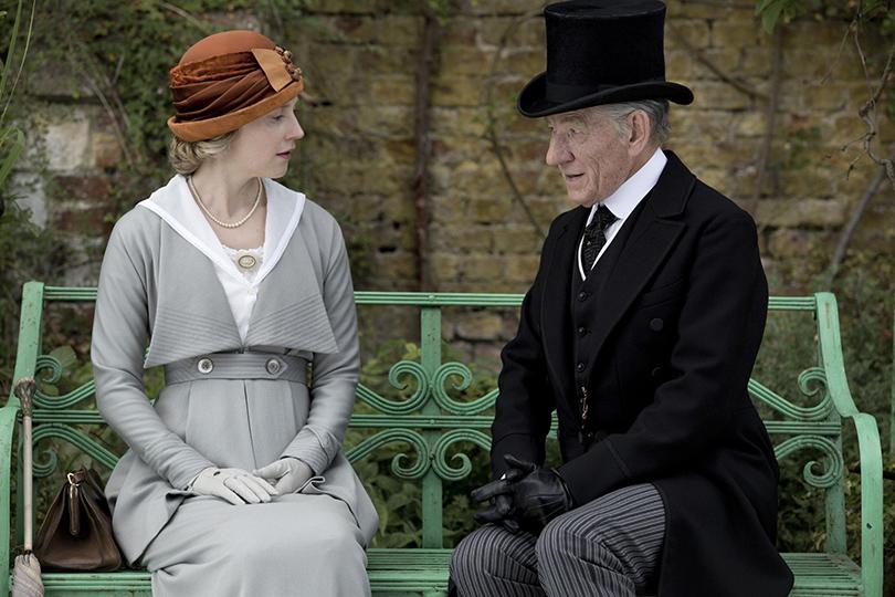 Иэн Маккеллен вфильме «Мистер Холмс» образца 2015 года