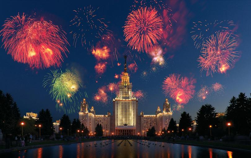 Блог редакции: где посмотреть праздничный салют в Москве