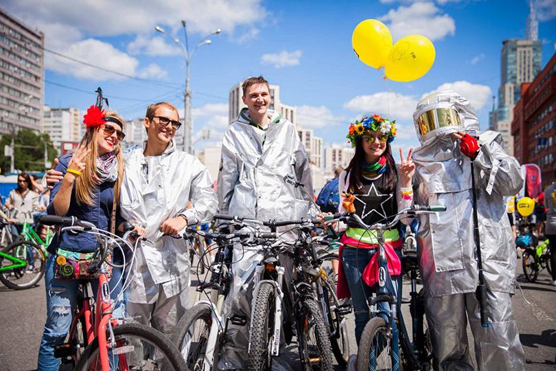 Выходные в городе: Московский велопарад