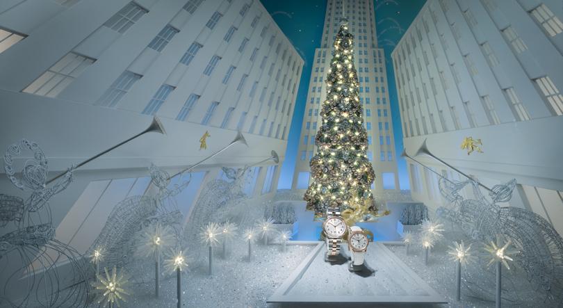 Новый год: праздник кнам приходит— самые красивые рождественские витрины мира. Tiffany &Co.