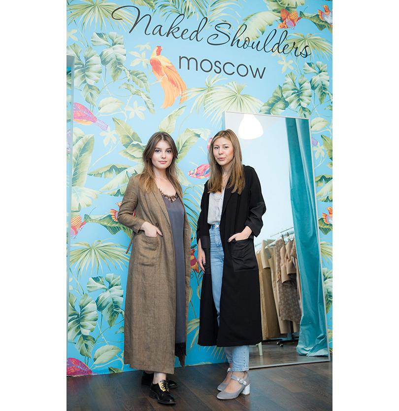 Марина Щедрова и Марина Кравец (основательница Naked Shoulders)