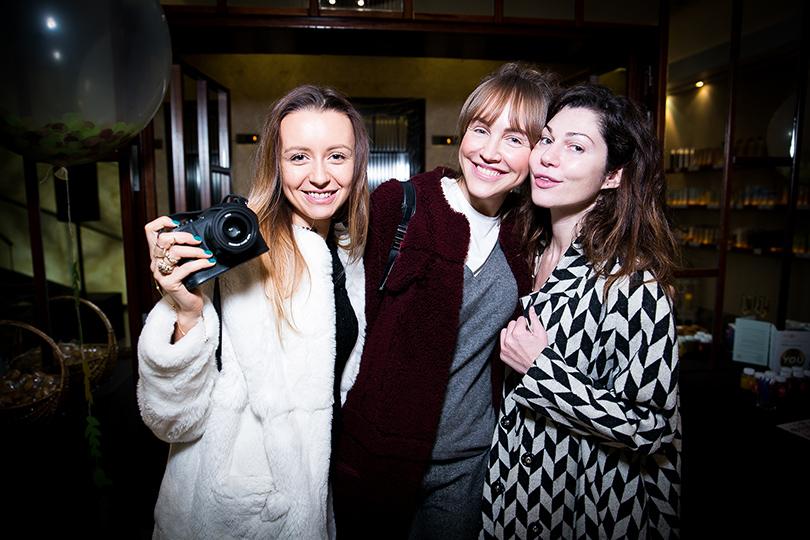 Открытие Mahash The Only Spa в отеле InterContinental: Наталия Османн, Светлана Родина и Евгения Линович