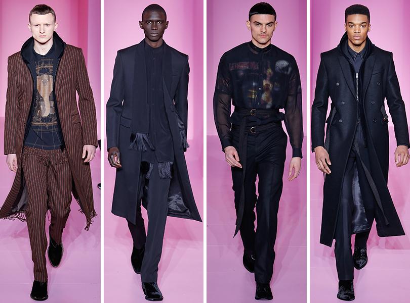 Givenchy. Men in Style: первый план. Лучшие показы с Недели мужской моды в Париже