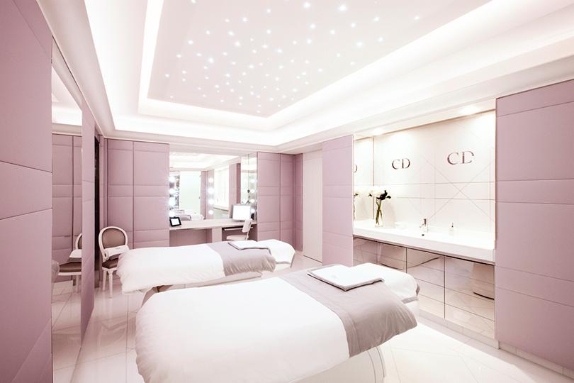 Институт красоты Dior в парижском отеле Plaza Athénée