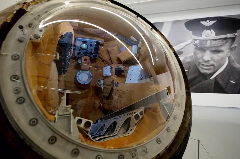 Закрытый показ выставки «Русский космос» в МАММ