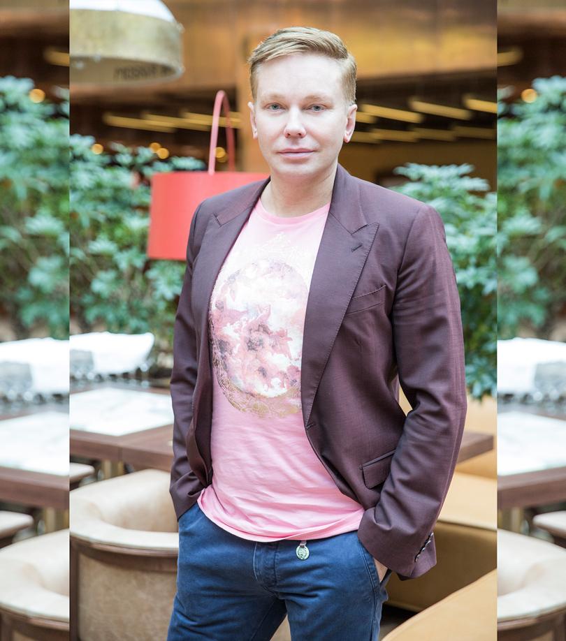 Генеральный директор Clarins Russia Эдгар Шабанов