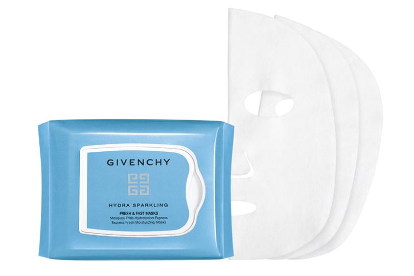 Маска для экспресс-увлажнения кожи Hydra Sparkling Givenchy наоснове лосьона вкомбинации соSparkling Water Complex