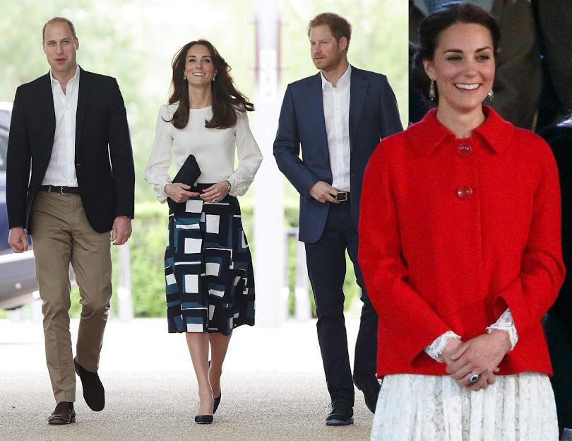 Smart Shopping: почему герцогиня Кембриджская выбирает демократичные марки? Вюбке Banana Republic иблузке Goat, вплатье Dolce &Gabbana ижакете Zara
