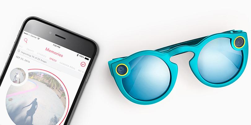 Did You Know? Очки от Snapchat со встроенной беспроводной камерой