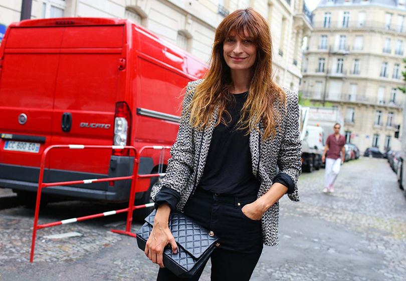 Street Style: лучшие образы на неделях мужской моды. Каролин деМегрэ