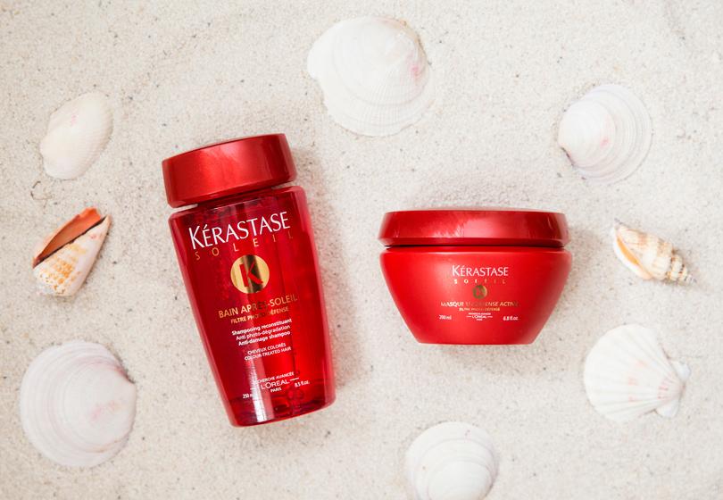 Шампунь Kérastase Soleil Bain Après-Soleil Anti-Damage Shampoo + маска Kérastase Soleil Masque UVDéfense Active